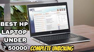 Unboxing of hp 15-da0077TX laptop | My first laptop