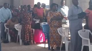 Lutheran Church Mshikamano. Coming New Parish Meatu Simiyu.