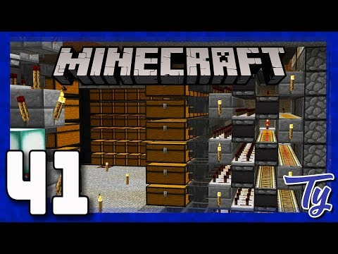 Minecraft 1.12 Survival - SORTED State of Mind! - Ep41