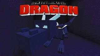 Minecraft - HOW TO TRAIN YOUR DRAGON - Special Surprise! [40]