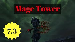 Blood Deathknight Mage Tower: Guide and Commentary (only 1 lego)