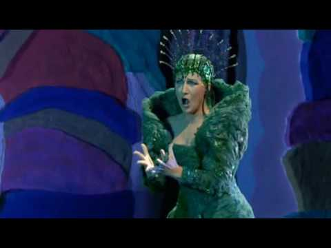 Queen of the Night Mozart Magic Flute Damrau Diana Der Hölle Rache kocht in meinem Herzen