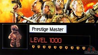 Black Ops 3 ZOMBIES - PRESTIGE LEVEL 1000! WHAT HAPPENS? (Black Ops 3 Zombies Prestige Master)
