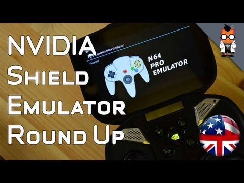 NVIDIA Shield with various Emulators - N64. PS One. PSP and Gamecube