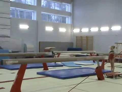 Спортивная гимнастика. Девочки. Бревно.