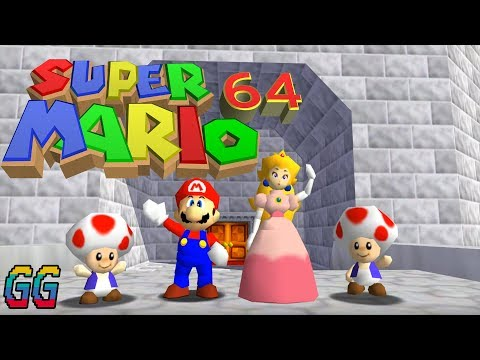 NINTENDO 64 Super Mario 64 1996 PLAYTHROUGH (100%)