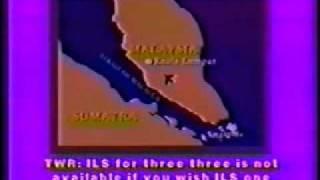 BOEING 747 CRASH CVR COCKPIT VOICE RECORDING CFIT BLACK BOX RECORDING MALAYSIA CRASH