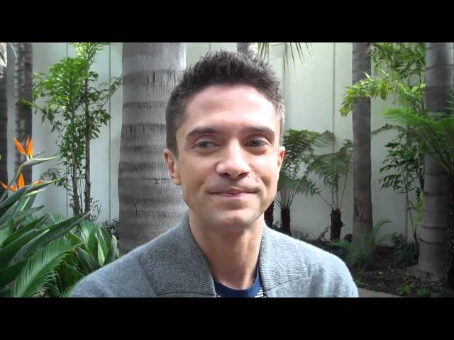 Topher Grace - What movie did you see growing up that made you want to become an actor?