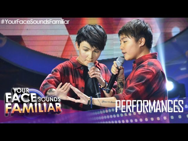"Your Face Sounds Familiar: KZ Tandingan as Charice - ""Pyramid"""
