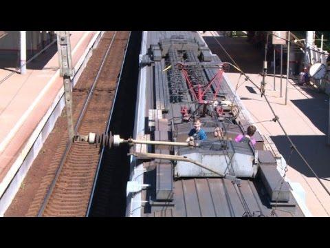 Surf sobre trenes: ¿hobby o problema social?