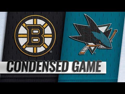 021819 Condensed Game Bruins  Sharks