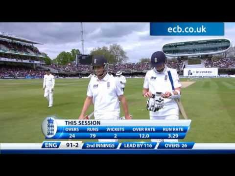 Highlights England v New Zealand - Day 3 Afternoon Session at Lord's