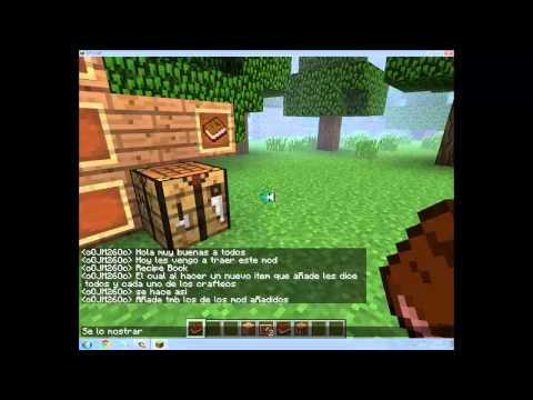 Recipe Book MOD - Minecraft 1.4.7