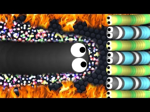 YOU CANNOT KILL HIM! - Slither.io Mobile Hack GAMEPLAY!? (Slither.io Mobile Strange Gameplay)