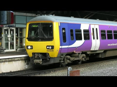 Trains & Trams at Manchester Airport