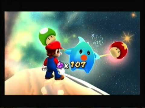 Let's Play Mario Galaxy part 5:Racking up the comet medals