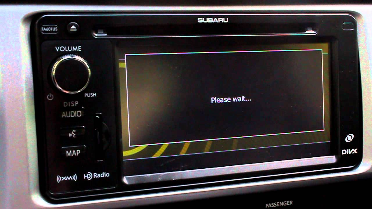 Phlwalkaround 2013 Subaru Navigation Voice Command
