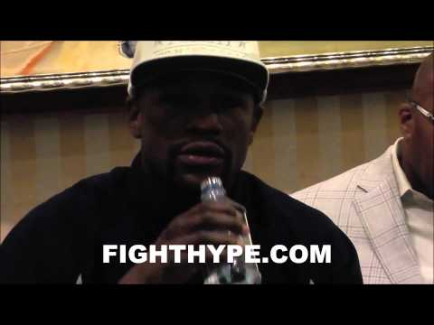 MAYWEATHER SAYS GUERRERO IS A GOOD GRAPPLER BUT NOT ON HIS LEVEL