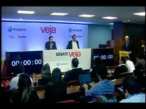 Debate VEJA – 1º bloco: Troca de acusações cria 'Crivellinho' e 'Penóquio'
