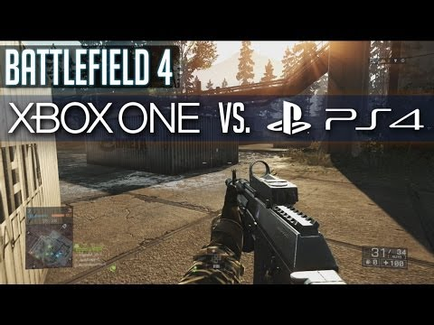 BF4 Xbox One vs PS4 Multiplayer - Battlefield 4 Playstation 4 Gameplay