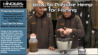 How To Prepare Hemp for Fishing