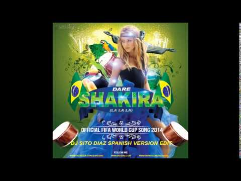 "SHAKIRA - ""LA LA LA""(BRAZIL 2014) (FEAT. CARLINHOS BROWN)[OFFICIAL AUDIO]"
