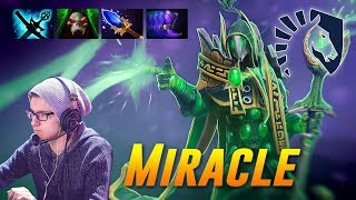Miracle Rubick Tough Action | Dota 2 Pro Gameplay