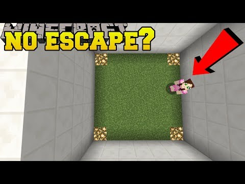 Minecraft: ESCAPE THIS ROOM!?! - Find The Button Expected - Custom Map [1]