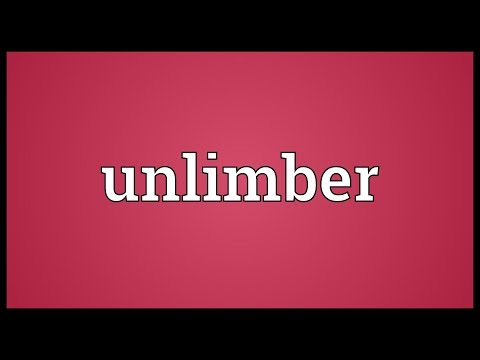 Header of unlimber