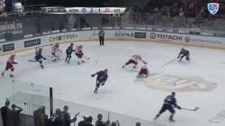 Vityaz @ Admiral 10/21/2014 Highlights / Адмирал - Витязь 5:4