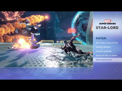 Disney Infinity 2.0 -- Marvel Super Heroes: Star Lord | HD