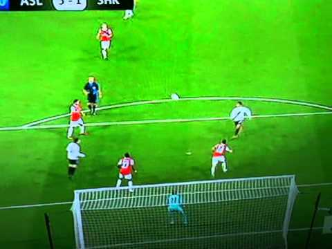 Eduardo Goal Vs Arsenal 10/11