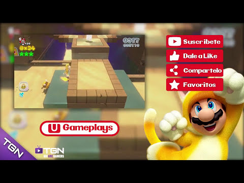 Super Mario 3D World | Wii U Gameplay #4 | Español HD