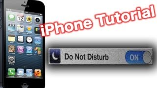 How To Use The iPhone Do Not Disturb Feature (DND Setting)
