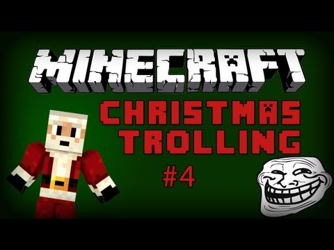 Minecraft Custom Map - EPIC JUMP MAP CHRISTMAS TROLLING Part 4