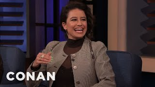 "Ilana Glazer Grew Up Watching Conan On ""Late Night"" - CONAN on TBS"