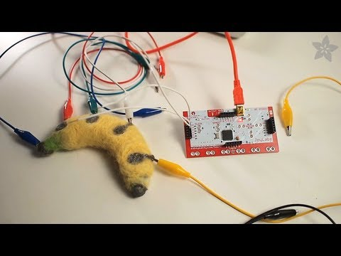 Conductive Fiber with MaKey MaKey