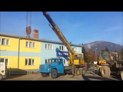Tatra with CKD crane