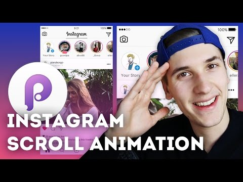 Instagram Scroll Animation • UI/UX Animations with Principle & Sketch (Tutorial)