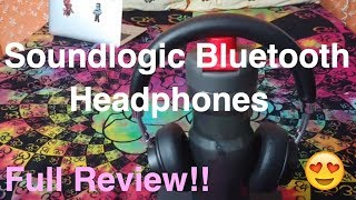 SoundLogic Bluetooth Headphone Wireless Full review / Unboxing