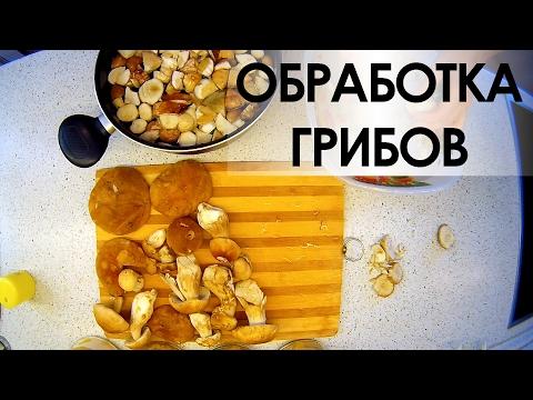 011. Обработка грибов.