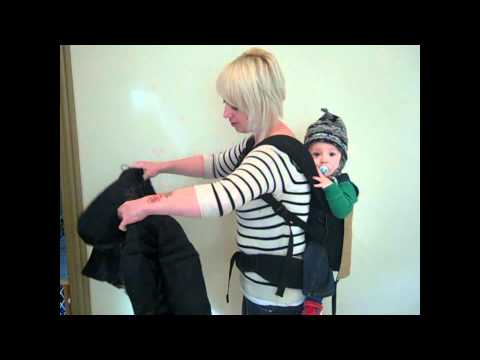 Babywearing Coat Demo.avi