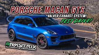 Porsche Macan GTS Turbo Test Drive with Armytrix Valvetronic Exhaust - AMAZING SOUNDS!