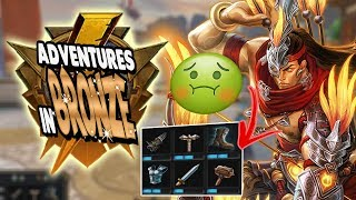 Smite: Adventures in Bronze Duel - Hou Yi Vs. Cupid - THE PROGRESSIVE BUILDING CHALLENGE!