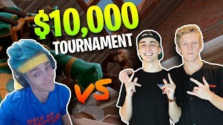 Ninja & KingRichard vs. FaZe Tfue & Cloak - $10,000 Fortnite Tournament   20 Kill Gameplay