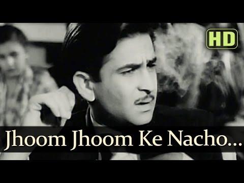 Jhoom Jhoom Ke Nacho (HD) - Andaz Songs - Nargis - Dilip Kumar...