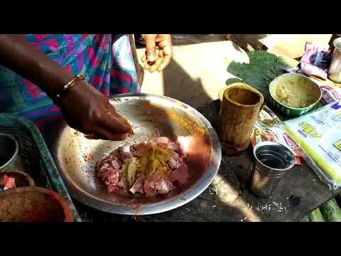 Preparation of bongulo chicken### rampachodavaram@@@
