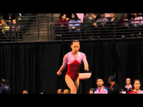 Wakiko Ryu - Vault Finals - Vault #2 - 2012 Kellogg&#039;s Pacific Rim Championships (1st)