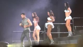 Ricky Martin - Shake your Bon-Bon - Palacio de los deportes (04-oct-2014)