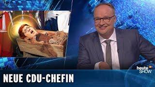 AKK gewinnt die Schlacht um den CDU-Vorsitz | heute-show vom 07.12.2018